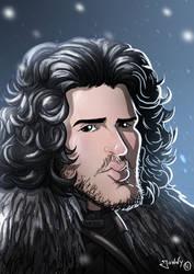 Jon Snow by Jonny5Alves