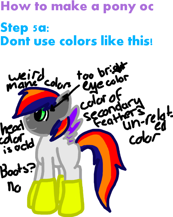 How to make a pony oc pt 5a by harlithecat on deviantart for How to make a good painting