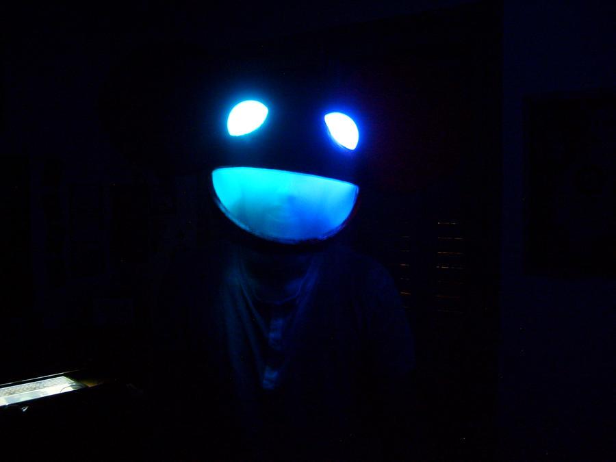 deadmau5 blue head wallpaper - photo #23