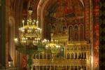 Church, interior, light