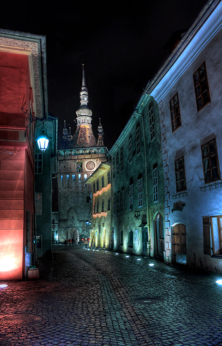 Clock Tower, Sighisoara by mariustipa