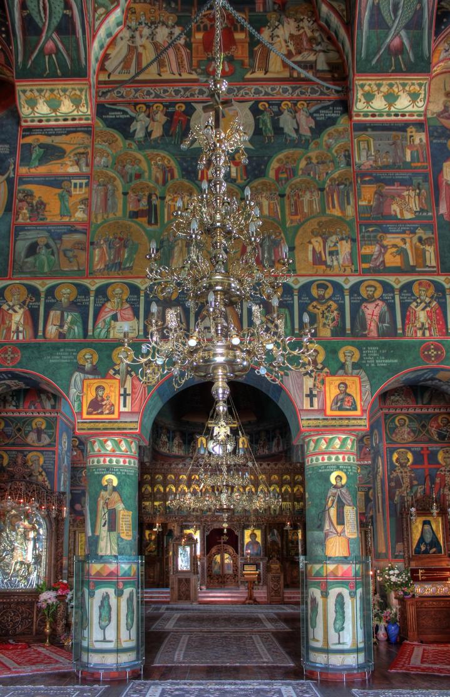 Lainici Monastry, inside by mariustipa