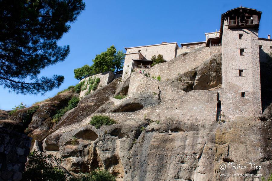Meteora Monastery 1 by mariustipa