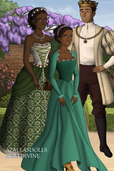 Tiana and naveen family