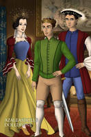 Disney Families- Snow White,The Prince and William by shenerdist