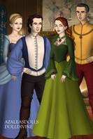 Disney Families-Cinderella,Charming, Mary and Walt by shenerdist