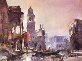 Venice, Impression by micorl
