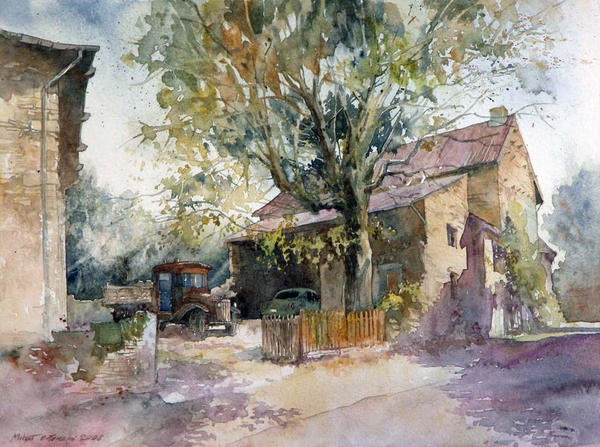 Ameugny by micorl