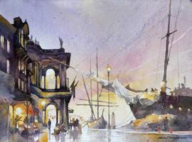 Shipyard by micorl