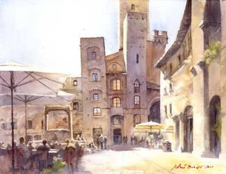 San Gimignano by micorl