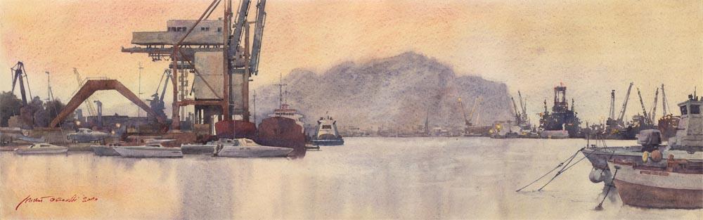 Palermo shipyard by micorl