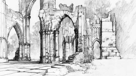 Gothic Ruins by micorl