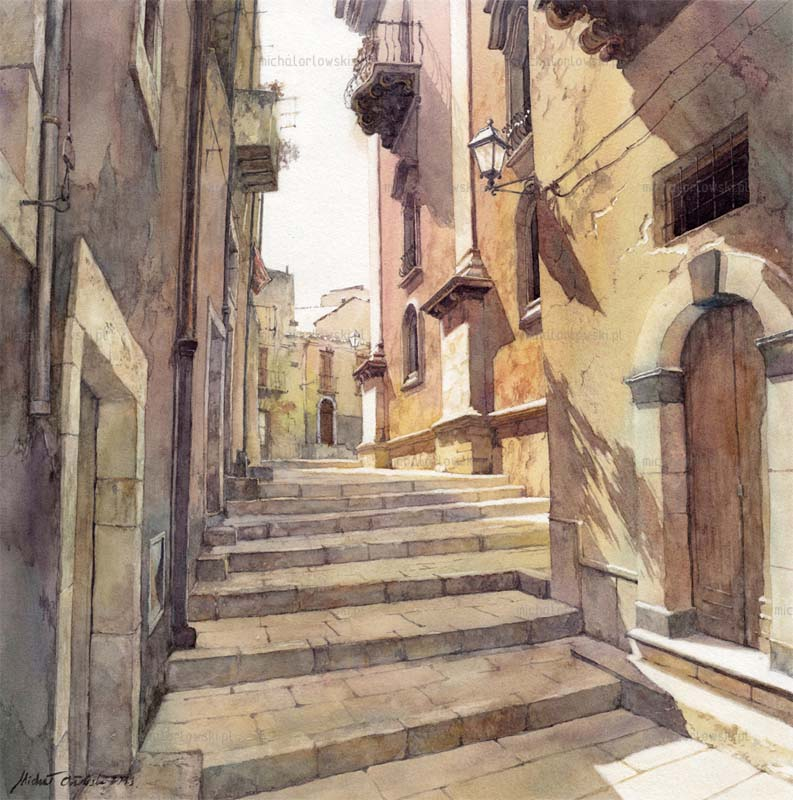 Michal Orlowski |Watercolors #artpeople