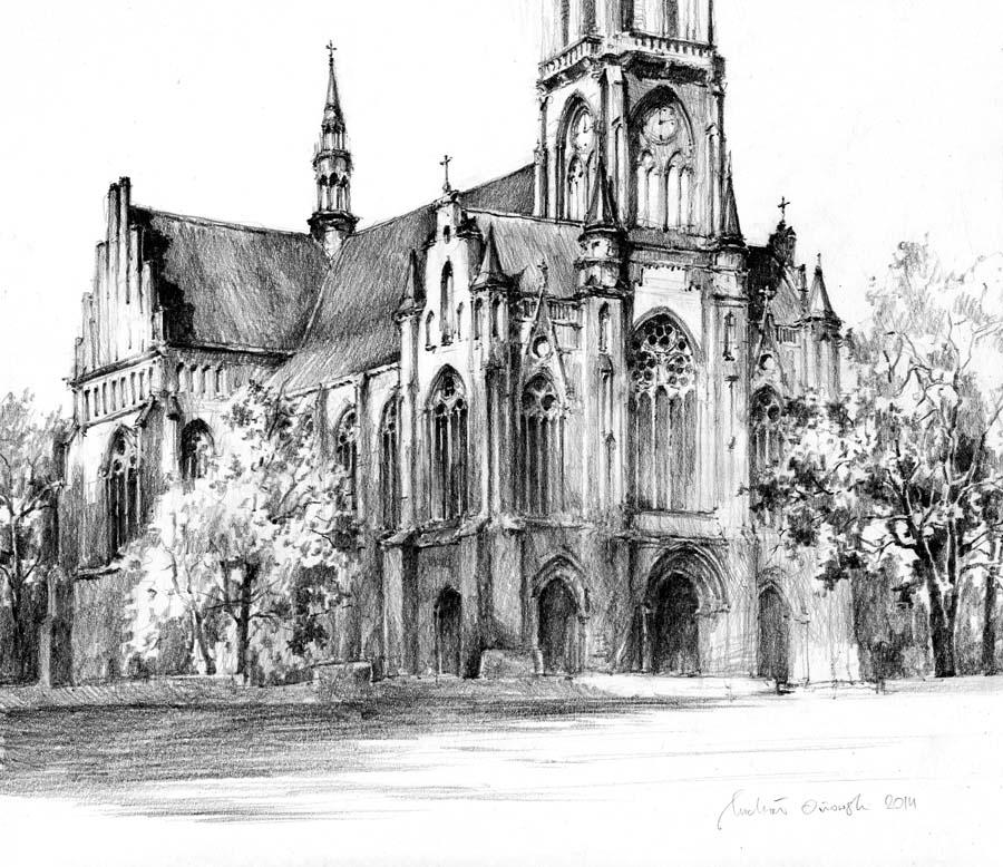 Neogothic Church by micorl