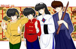 Ranma onehalf Boys