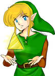 Link and the triforce shard - ALTTP