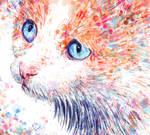 Watercolour Cat - Watercolour Brushes in Krita