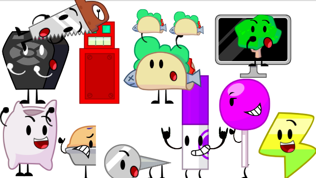 BFDI and BFDIA losers (part 2) by noahthemaster on DeviantArt