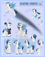 Glacier Freeze Reference Sheet by DeadliestVenom