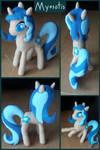 Myosotis, Poseable Doll by DeadliestVenom