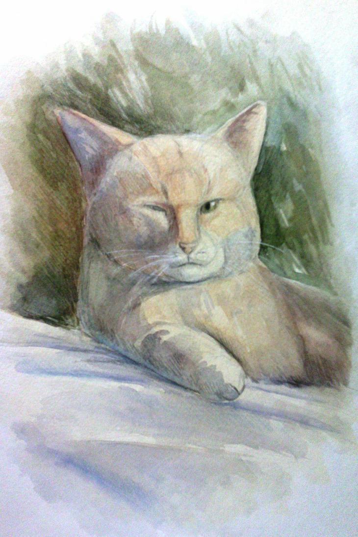 Cat by Leo-Artis