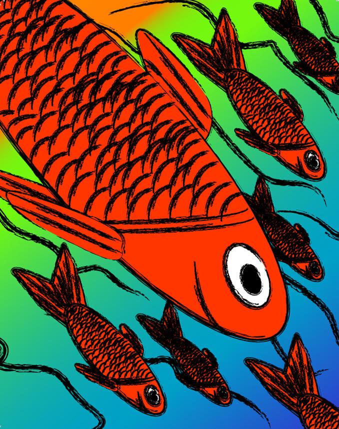 Paint Brush Fish