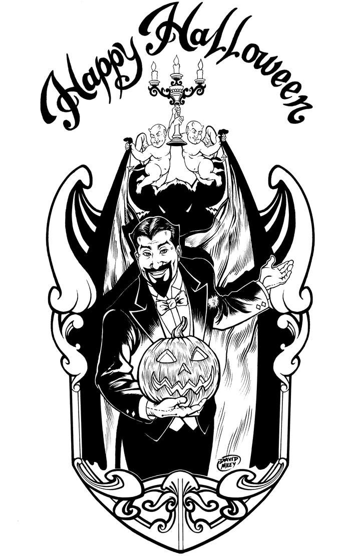 Halloween INKS by DAVIDGMILEY