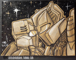 Sumi Ink Chromedome and Rewind