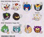 Drift Mini - Wreckers Saga Chibi Set