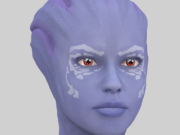 Asari Test C By Galactron22 On Deviantart