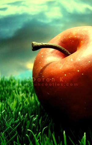 Newton's Apple by duhcoolies