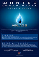 Ablaze - Wanted Ad by duhcoolies