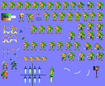 Toon Link in MMZ style by Advent-Axl - 16.2KB