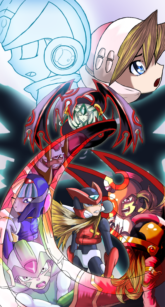 MMZC Megaman Zero 2 by Advent-Axl