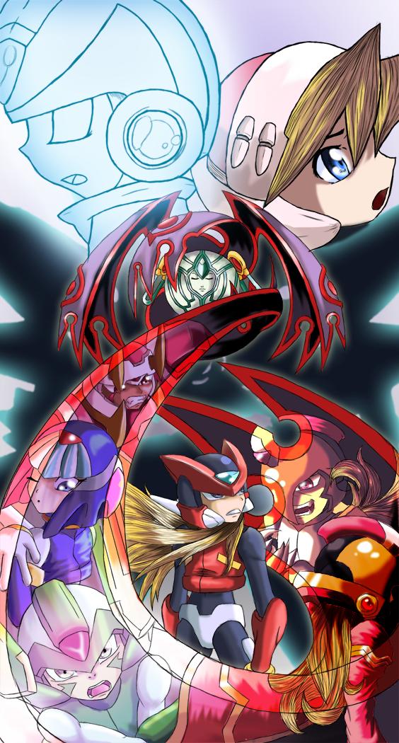 MMZC Megaman Zero 2 by Advent-Axl