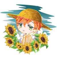 Summer Boy by bylittlecn