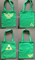 Legend of zelda Tote bags