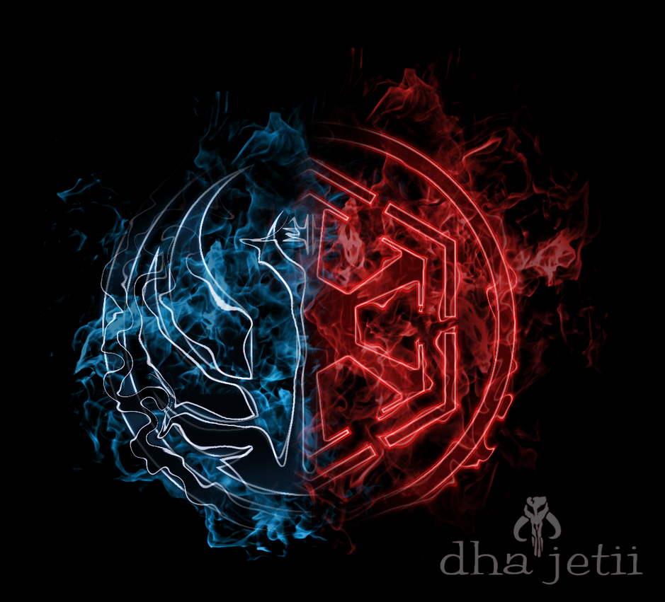 Swtor logo aflame by dhajetii on deviantart - Republic star wars logo ...