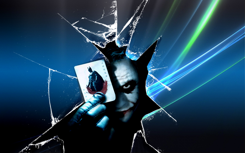 Joker... Windows - wallpaper by Akinaro