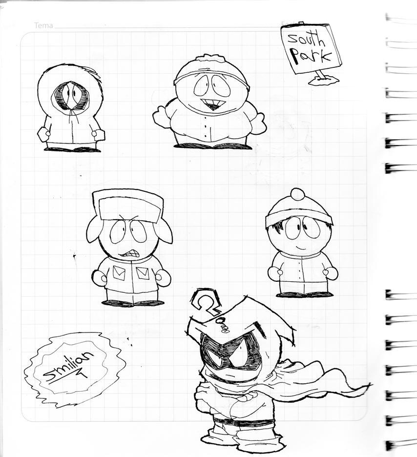 South Park Sketches by sav8197