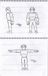 3D Character design concept art by sav8197