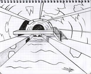 Environment concept art by sav8197