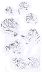 Shere Khan Sketches by sav8197