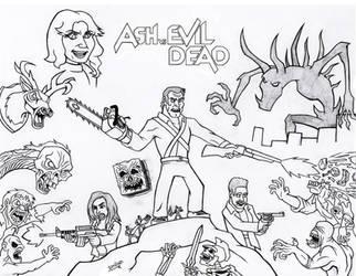 Ash Vs Evil Dead by sav8197