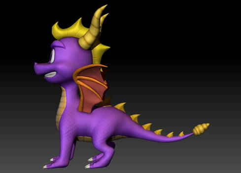 Spyro finished 05 side view