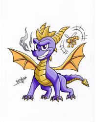 Spyro The Dragon Reignited by sav8197