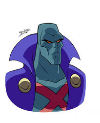 J'onn J'onzz The Martian from Justice League by sav8197
