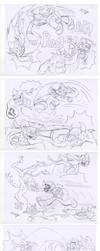Sania Vs Enemies Sketches by sav8197