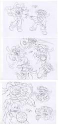 Sania Sketches Galore by sav8197