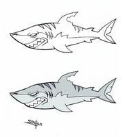 Celeste Shark Side View